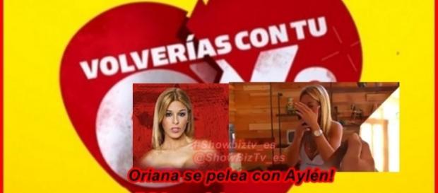 Oriana protagoniza otra pelea en Volverías con tu ex?