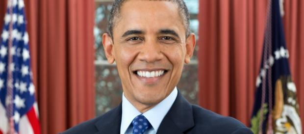 Portrait of Barack Obama (Wikipedia)