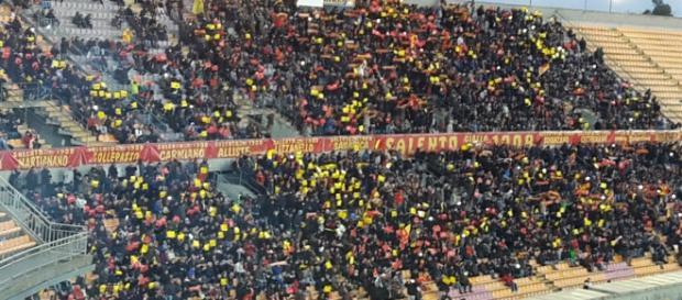 Si prevede il pubblico delle grandi occasioni a Lecce.