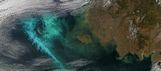 The Bering Sea via Flickr NASA CC2.0