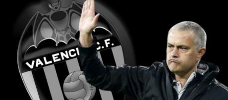 Mourinho podría estar a punto de firmar por el Valencia C.F.