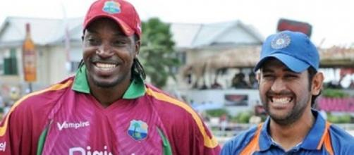 Dhoni and Gayle WC T20 (Twitter)