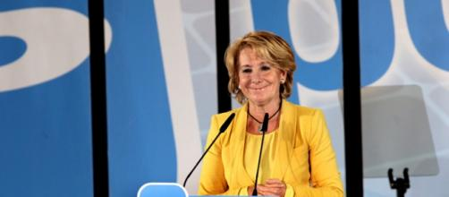 Esperanza Aguirre, política española