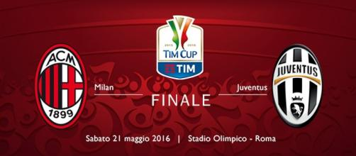 Finale di Coppa Italia 2016 tra Milan e Juventus