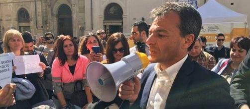 Il candidato di Sinistra Italiana, Stefano Fassina