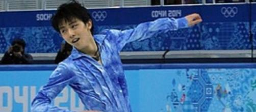 Japanese skater Yuzuru Hanyu dominated the men's short program at 2016 Worlds. David W. Carmichael/Wikimedia