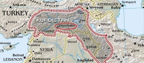 La estación de autobuses se encontraba en Diyarbakir, la principal ciudad del Kurdistán turco