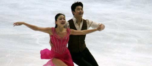 Maia and Alex Shibutani are second at Worlds following the short dance. Luu/Wikimedia