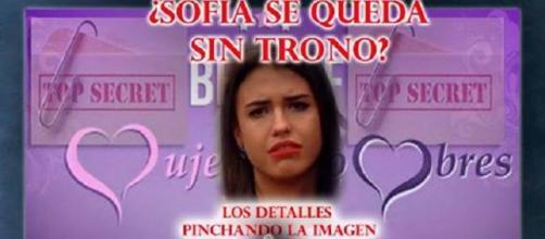 Sofía, tronista de Mujeres y Hombres y Viceversa