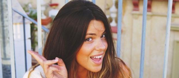 Laura Matamoros y su 'Cara el sol'