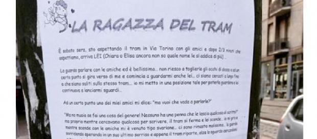 Prosegue la ricerca della ragazza del tram a Milano