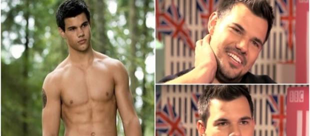 Taylor Lautner aparece diferente