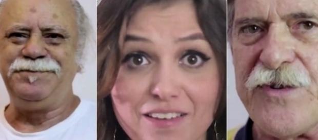 Tonico Pereira, Monica Iozzi e José de Abreu