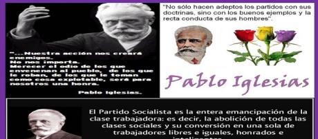 Pablo Iglesias, fundador del PSOE