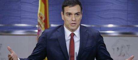 Pedro Sánchez, del PSOE. Crédito: EFE
