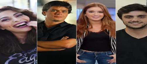 """Elenco da """"novela das sete"""" da Rede Globo"""