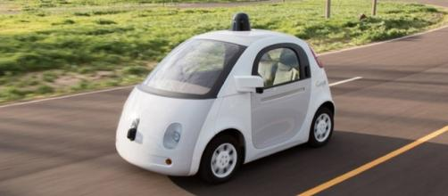 Google's fully autonomous car, photo by pcmag.com