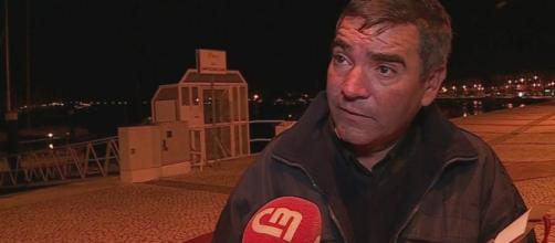 Pai de Rodrigo Lapa em entrevista ao CM.