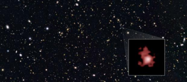 La antigua y lejana galaxia GN-z11