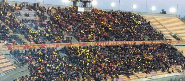 Tanti spettatori per Lecce- Melfi.