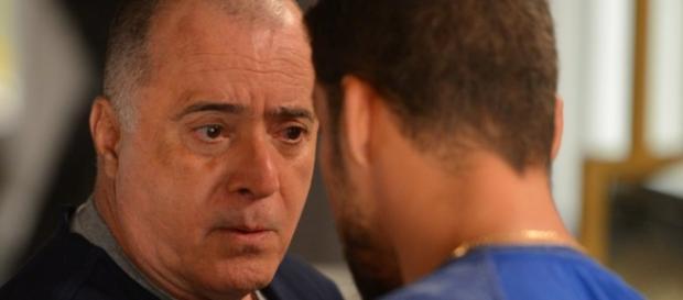 Tony Ramos interpreta Zé Maria em A Regra do Jogo