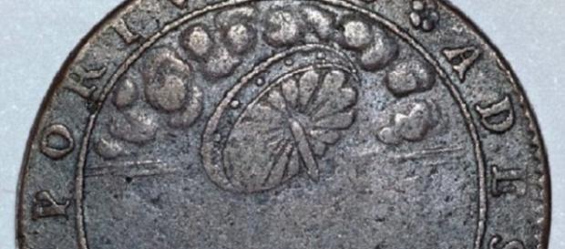 Ufo in un'antica moneta francese?