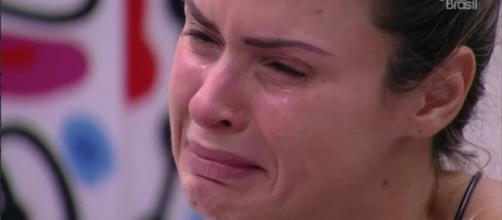 Ana Paula foi eliminada (Reprodução/Globo)