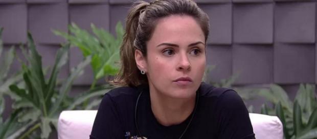 Ana Paula é desclassificada do Big Brother