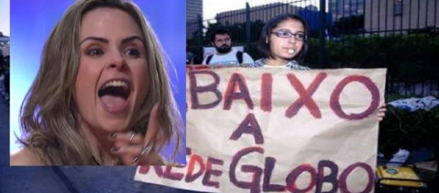 Ana Paula pode gerar protestos na Globo?