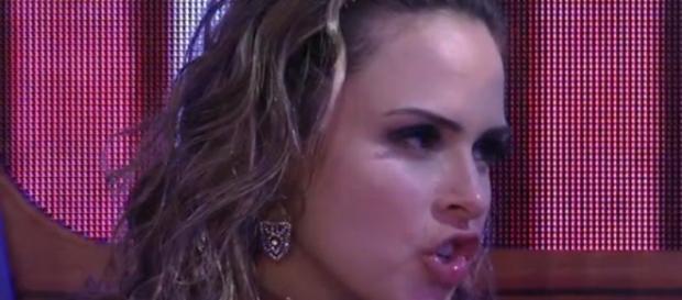 Ana Paula procurou briga (Reprodução)