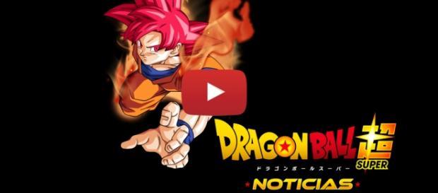 Imagen de Goku en el estado SS Dios