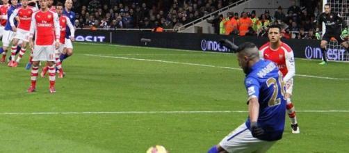Mahrez scored a crucial goal (Wikipedia)