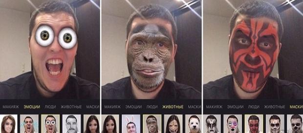 La app de la cara de Darth Malu