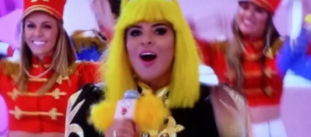 Mara Maravilha vira Xuxa no programa da Eliana