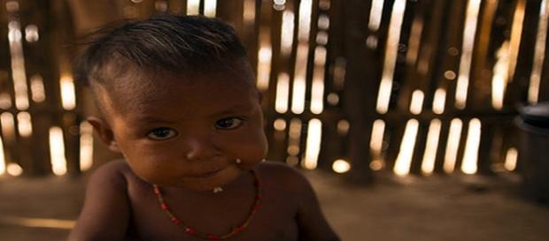 Niños Guajiro, mueren de sed y hambre.Foto UNICEF