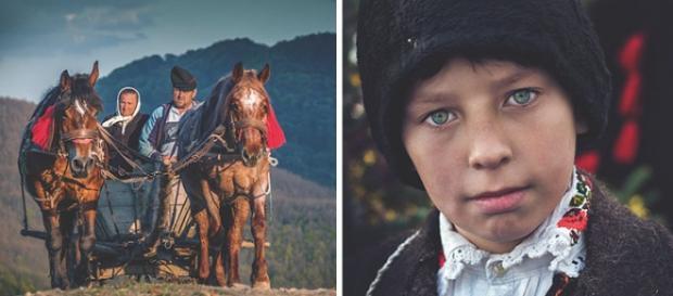 Poze realizate în satele din Maramureș