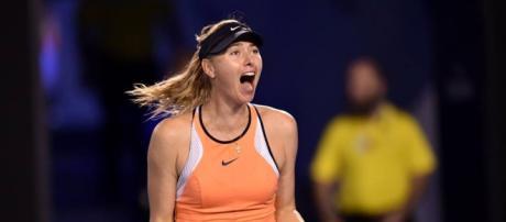 Bola fora: Sharapova é pega no doping