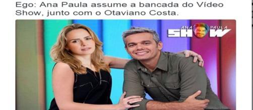 Ana Paula participa de Vídeo Show
