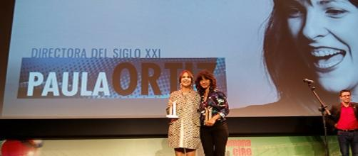 Inma Cuesta y Paula Ortiz recogen el premio