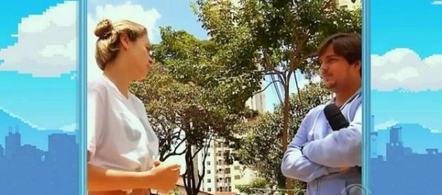 Ana Paula dá entrevista no Pânico - Foto/Reprod
