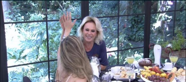 Ana Paula no 'Mais Você' (Divulgação/Globo)