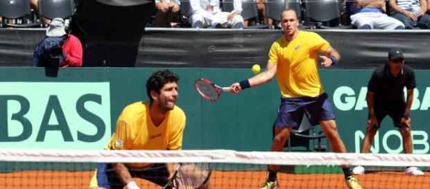 Bruno Soares e Marcelo Melo estarão juntos no Rio