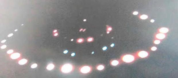 Immagine del presunto UFO fotografato John