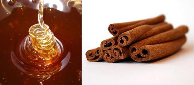 O mel e a canela produtos benéficos para a saúde