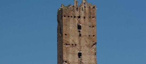 Torre Maggiore di Pomezia (Particolare)