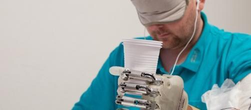 foto da: sciencenews.org il tatto bionico