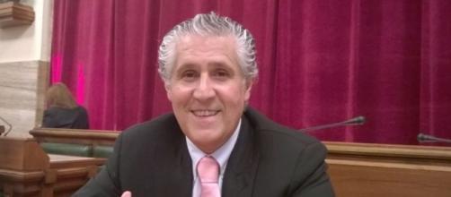 Il candidato sindaco Paolo Casu