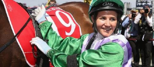 Michelle Payne Melbourne Cup winner(Source:Flickr)