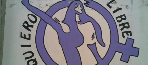 Mural feminista en Marinaleda (Sevilla)