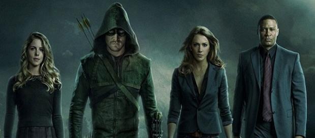 Algunos de los protagonistas de 'Arrow'